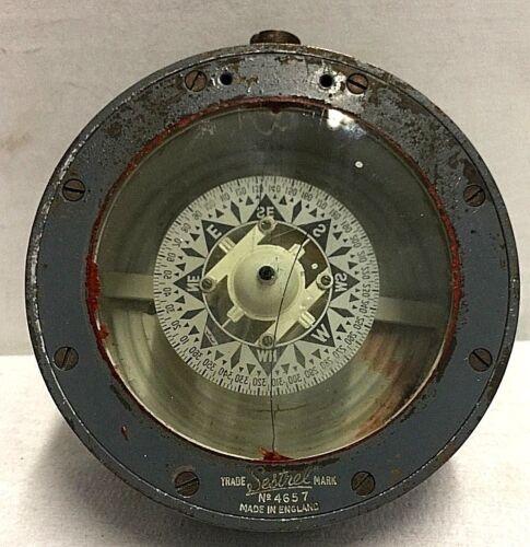 Vintage Compass Sestrel Ships Compass number 4657