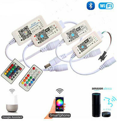 Google Magic (Magic Home WiFi Alexa Google Home RGB RGBW LED Strip Music Remote Controller)