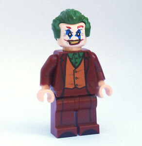 Custom Joaquin Phoenix Joker DC Super heroes minifigures Batman on lego bricks