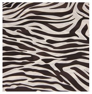 Zebra Animal Print Patterned ~ Acid Free Tissue Paper Sheets 35x45cm (Animal Print Paper)