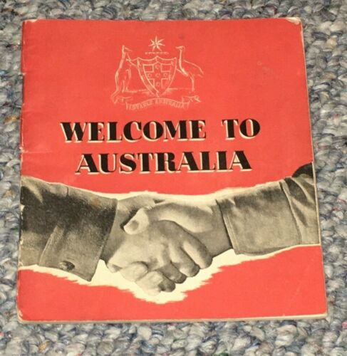 """""""Welcome To Australia""""   Booklet For American Soldiers In Australia - WWII"""