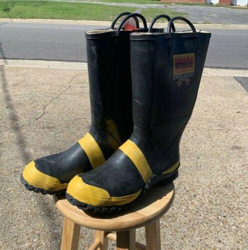 Servus Firebreaker Boots Men's 15 Wide Heavy Duty 9 Ibs                        J