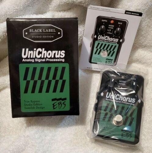 EBS UniChorus Black Label Studio Edition Chorus Bass Guitar / Keyboard Pedal