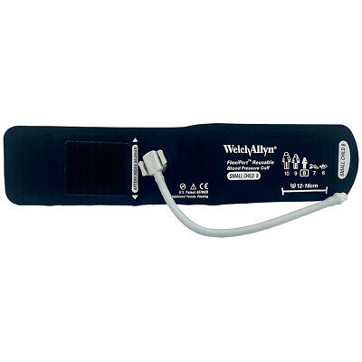 Welch Allyn Flexiport Blood Pressure Cuff One Tube-screw Size - 08 Small Child
