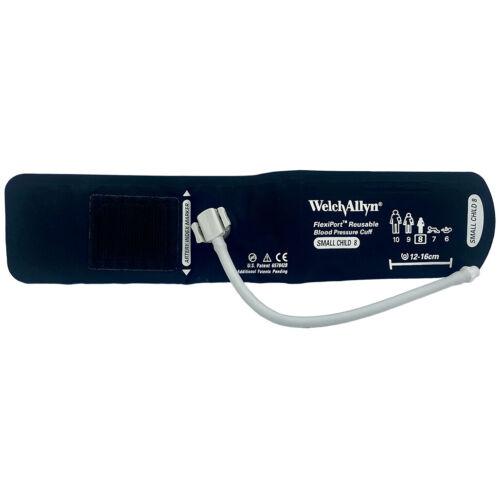 Welch Allyn FlexiPort Blood Pressure Cuff, One Tube-Screw, Size - 08 Small Child