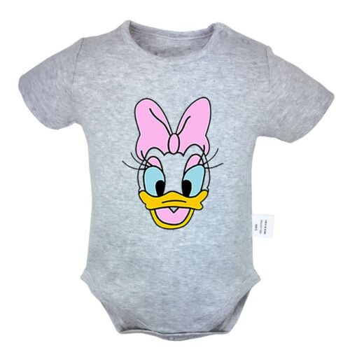 Cute Disney Star Daisy Duck Newborn Jumpsuit Unisex Baby Rom
