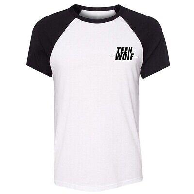 Teen Wolf Design Men's Women's T-Shirt Casual Graphic Tee Shirts Summer Tops - Teen Wolf Shirts