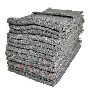 10 x (200cm x 150cm) Premium Removal Blankets Furniture Moving Packing Transit