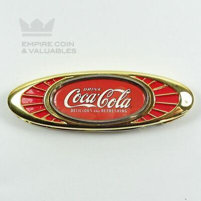 Coca Cola Franklin Mint Heirloom Collection Pocket Knife Bottle Opener *W1C1