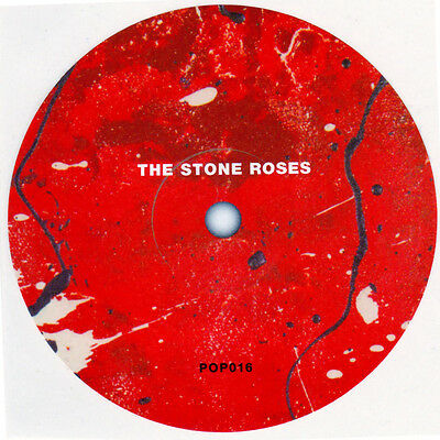 Stone Roses record label sticker. 1st album