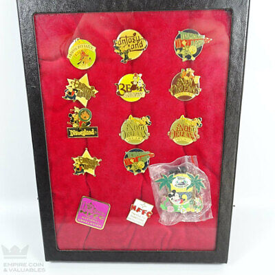 Vintage Disney Mickey Mouse Collector's Pins Lot (14 Total) *W1F2