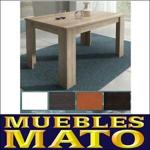Mesa cocina comedor salon oficina 138x88 roble cambrian for Muebles mato colloto