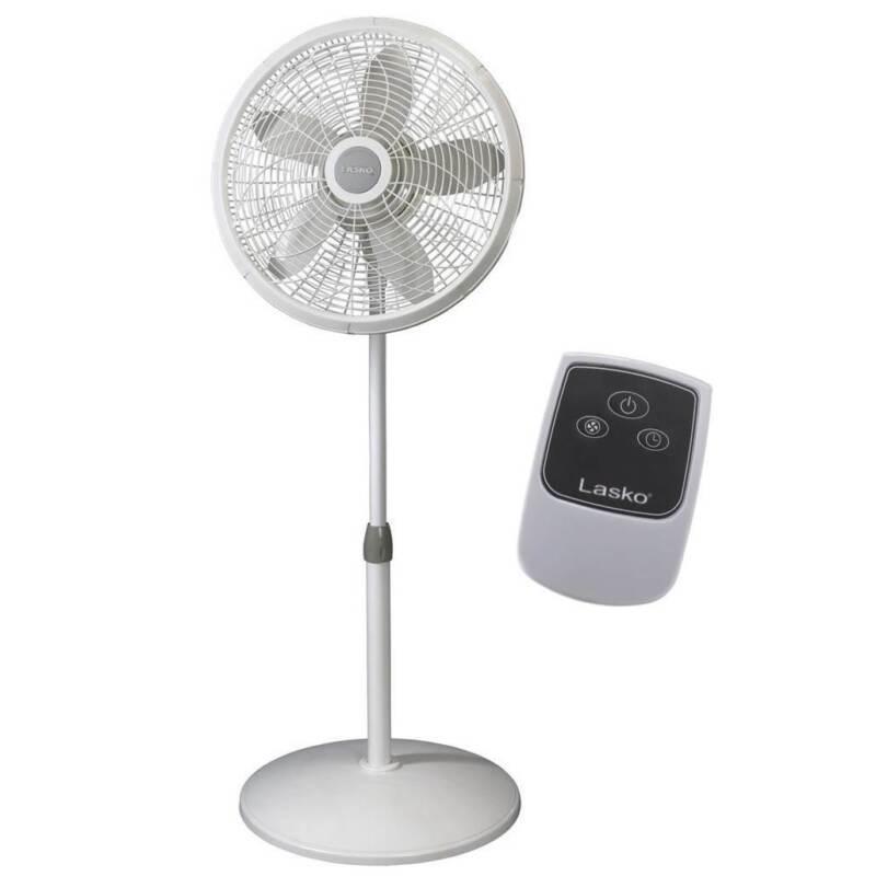 Lasko 18 Inch Elegance and Performance Oscillating Pedestal Fan (Open Box)