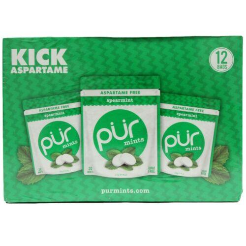 Pur Mints Aspartame Free  12 Bags