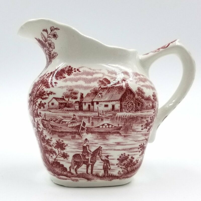 Pink Grindley Homeland Creamer / Staffordshire England