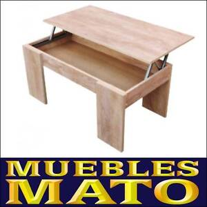 Mesa de centro elevable color roble cambrian modelo lara for Muebles mato ebay