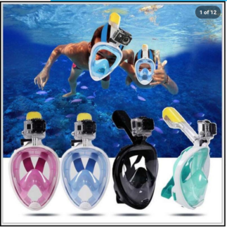 Fullface snorkle dive mask. Brand new