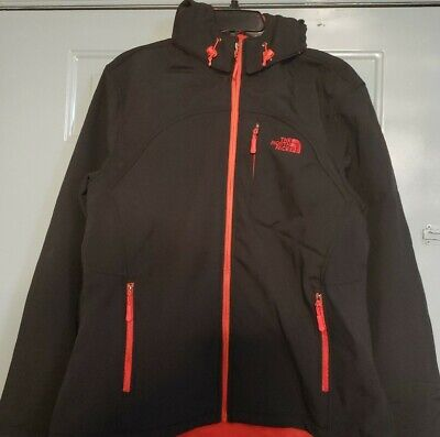 The North Face Women's Apex Elevation Black/Red Jacket-Size 2XL New