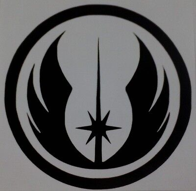 Jedi Order Logo Star Wars Vinyl Sticker Decal Home Laptop Choose Size And Color