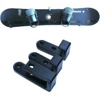 WALL STORAGE RACK WALL MOUNT DISPLAY HANGER FOR RIDE ROSSIGNOL SALOMON SNOWBOARD