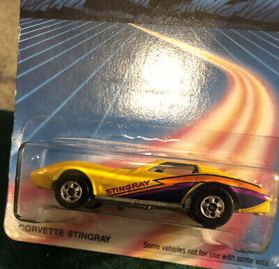 HOT WHEELS CORVETTE STINGRAY 80'S UNPUNCHED CARD