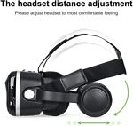 VR Headset Virtual Reality 3D Goggles For iPhone 6 6S 5 5S Plus Samsung S7 S8 S9 3