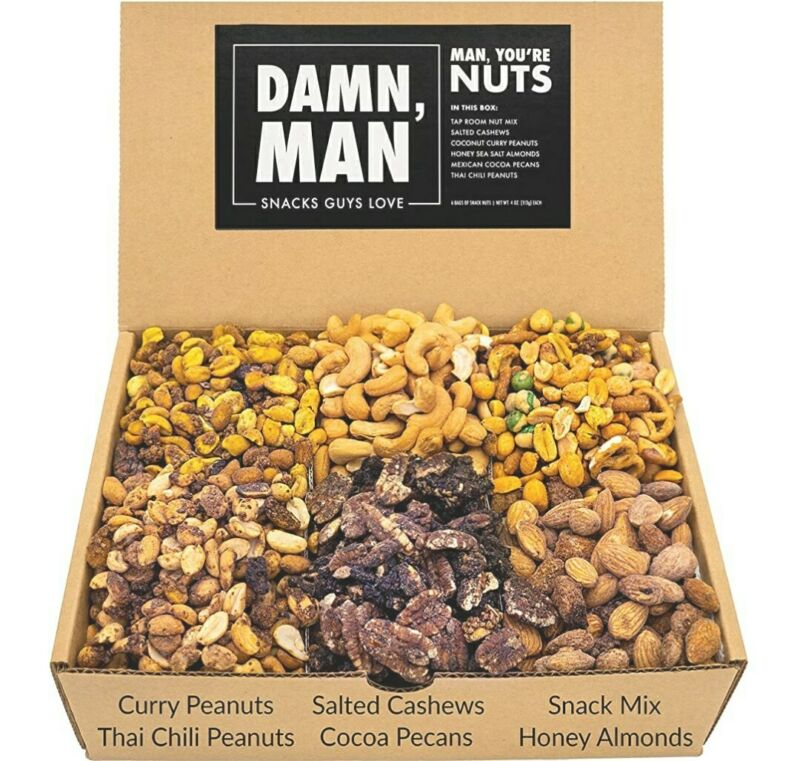 Assorted Nuts Gift Box Set
