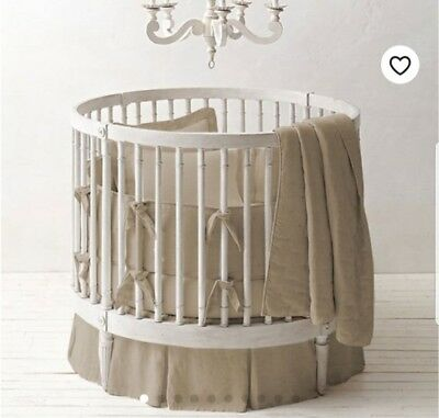 Round Crib Bedding Set, 42