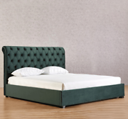 Emerald Green Velvet Bed Frame Queen or King Size New Hoppers Crossing Wyndham Area Preview