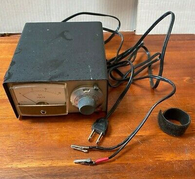 Adjustable Regulated Dc Voltage Supply Micronta 270-1754 Made In Japan Vg