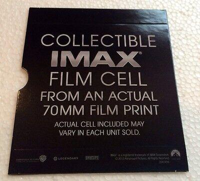 Interstellar 70mm IMAX Film Cell - Choose One (lot 2)