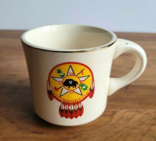 Boy Scouts of America Region 9 buffalo dreamcatcher vintage ceramic mug 8oz