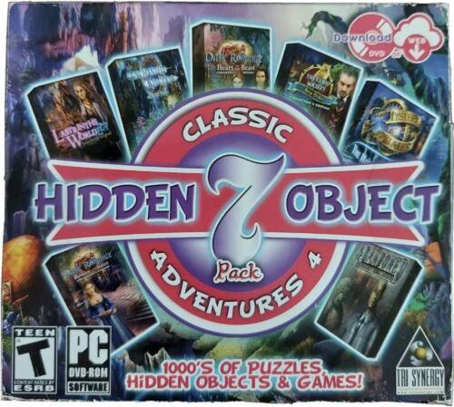 Computer Games - Hidden Object Classic Adventures 4 IV 7 Games PC Computer Windows XP 7 8 10 Vist