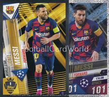 CL9 FC Barcelona Match Attax 2020//2021 Lionel Messi 100 Club