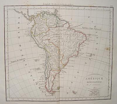 Brasielien Rio de Janeiro Sao Paulo Uruguay Peru Quito Caracas Buenos Aires 1827