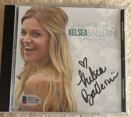 Kelsea Ballerini CD  Autographed SIGNED  Beckett Certed VERY RARE FULL SIGNATURE
