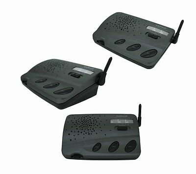 Group Call Function 3 Channel Wireless Intercom For Amazon Home 3 Units Set