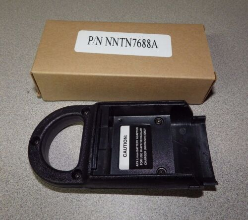 Motorola NNTN7688A APX Impres Vehicle Charger Battery Adapter