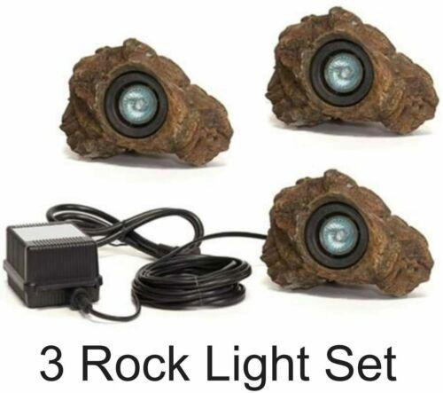 Anjon Manufacturing 3LEDRK Rock 21 LED Light Set With Transformer - 3-Pack