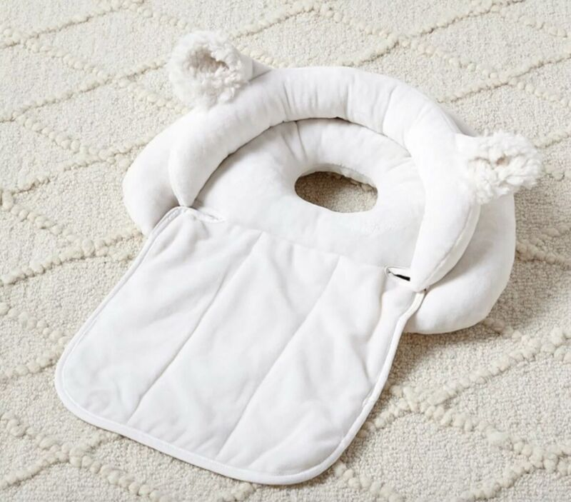 Pottery Barn Baby Boppy Lamb Noggin Nest Head Support New Sealed Package