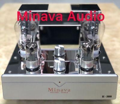300B Single Ended Integrated Vacuum Tube Amplifier Class A Hifi Audio High Power