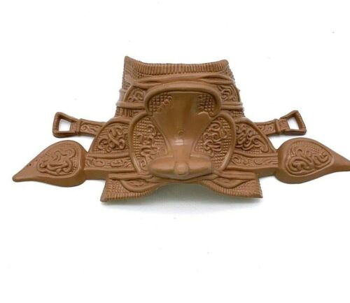 Brown Horse Saddle for Toy Horse Accessory
