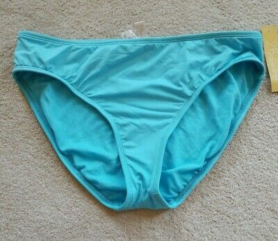 NWT 2Bamboo Light Blue Bikini Bottom Sz XL Must Have Basic Swim (Bamboo Blue)
