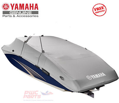 YAMAHA OEM 242 Limited 2015+ PREMIUM CHARCOAL Boat Mooring Cover MAR-242NT-CH-18