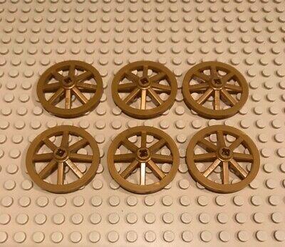 Lego Wheels Wagon Castle Building Brick Pieces Minifig Pearl Gold Set Bulk Lot