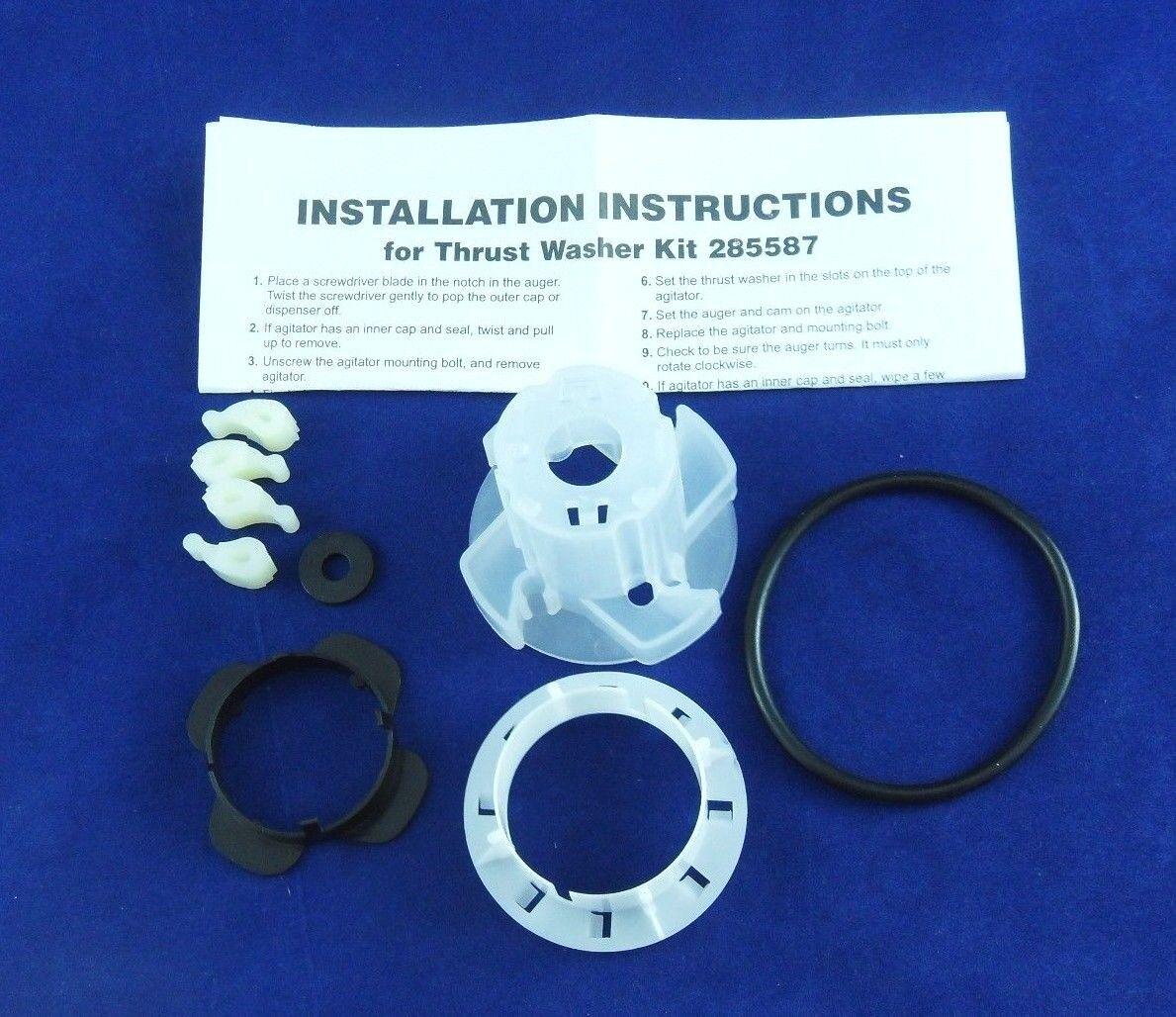 new washer agitator dogs cam kit 285811 for whirlpool kenmore ebay. Black Bedroom Furniture Sets. Home Design Ideas