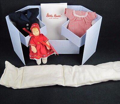 """Susi"" Kathe Kruse 5.5"" doll UFDC Convention 2004 orig. box COA"