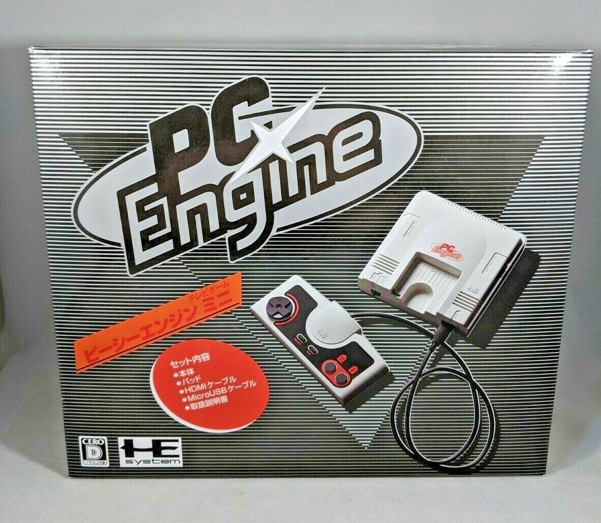 PC Engine Mini with 34 PC Engine Games + 24 TurboGrax 16 Games