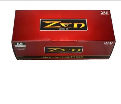 Zen Ryo King Size Full Flavor Cigarette Tubes   10 Box   2500 Tubes