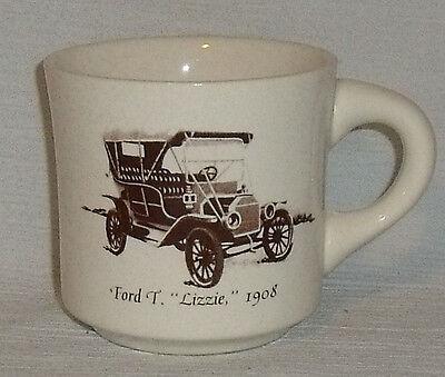 Ford Model T Mug Cup Lizzie Vtg Car